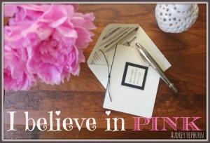 We believe in pink