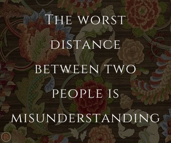 Quote about miscommunication