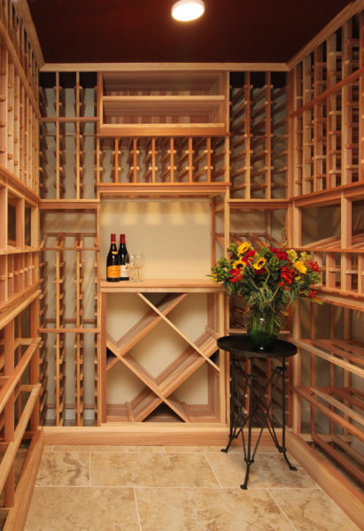 Vermont Wine Cellar Design