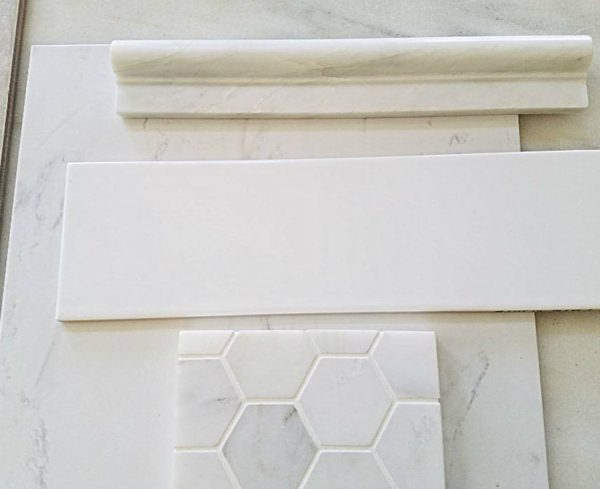 Mix of expensive and inexpensive tile