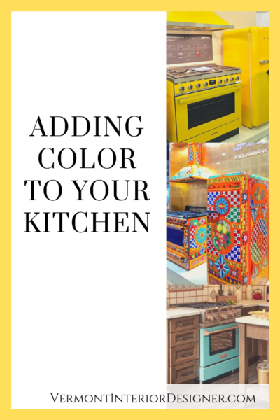 Adding color to your kitchen graphic